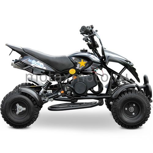 Квадроцикл MOTAX ATV H4 mini 50cc черно-серый